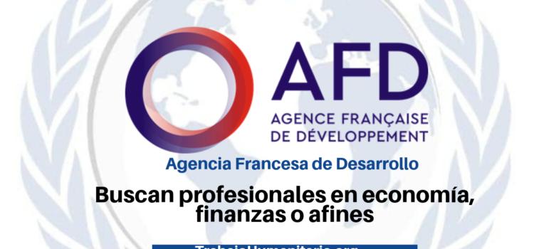 Vacantes con la Agencia Francesa de Desarrollo