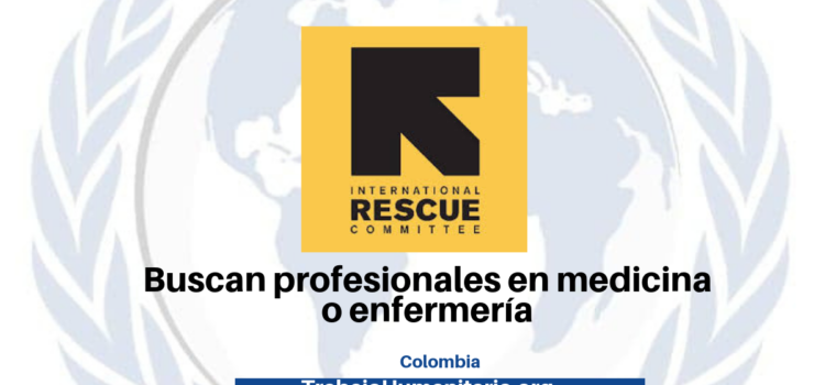 Vacantes con International Rescue