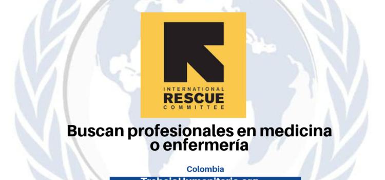 Vacantes con International Rescue