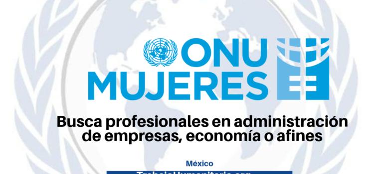 ONU Mujeres busca profesionales para sus vacantes