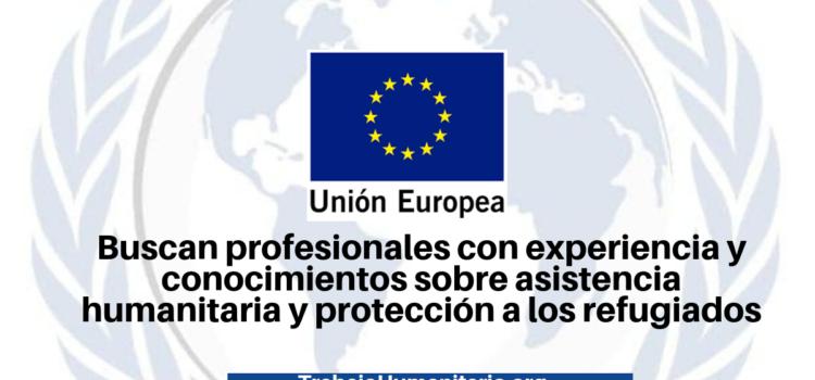 Unión Europea busca profesionales para sus vacantes