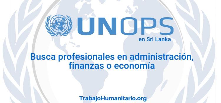 Naciones Unidas – UNOPS busca profesionales en administración de empresas