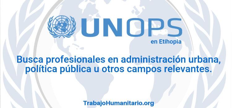 Naciones Unidas – UNOPS busca profesionales en administración urbana