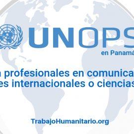 Naciones Unidas – UNOPS busca profesionales en comunicación