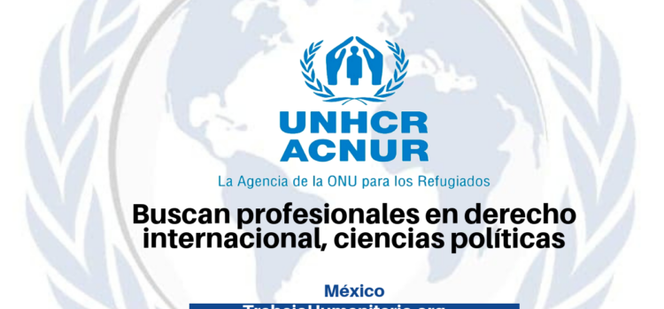 Vacantes disponibles con ACNUR