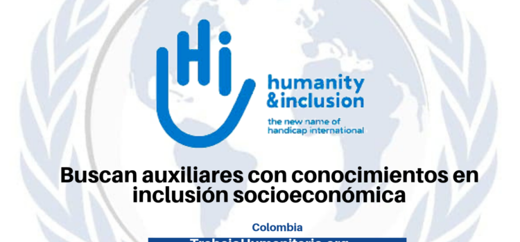 Vacantes con Humanity and Inclusion
