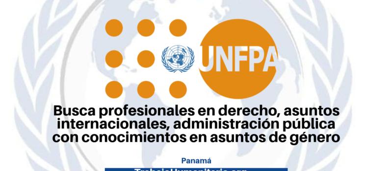 Vacantes con UNFPA