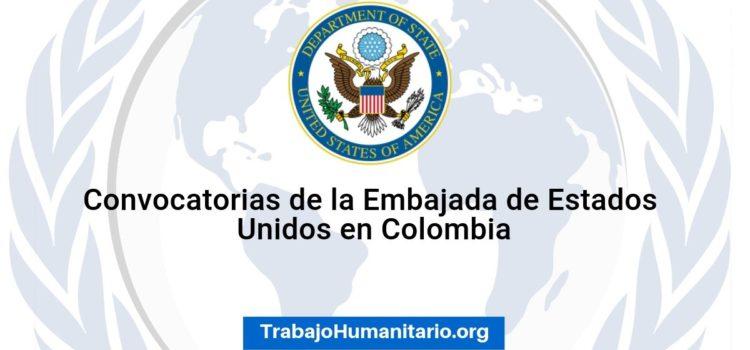 Convocatoria de la Embajada de EEUU en Colombia. Conoce cómo aplicar