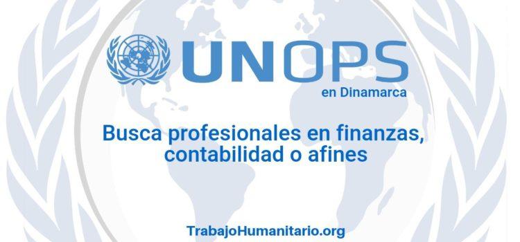 Naciones Unidas – UNOPS busca profesionales en finanzas o afines