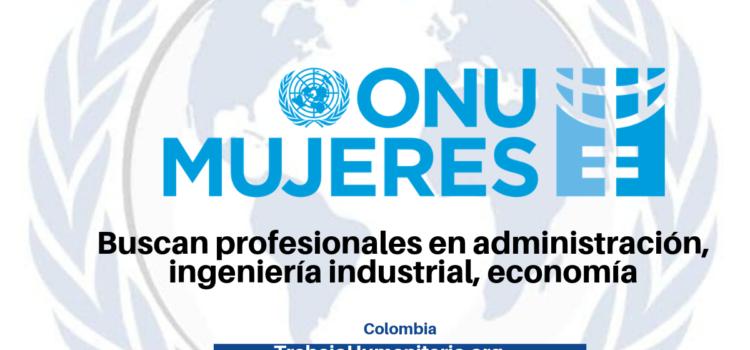 ONU Mujeres buscan profesionales con experiencias en temas administrativos