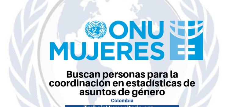 ONU Mujeres busca profesionales con experiencia en asuntos de género