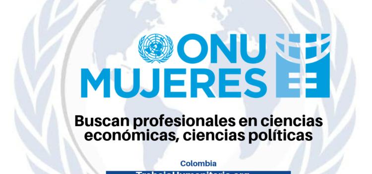 ONU Mujeres buscan profesionales con experiencia en formulación de proyectos, programas o políticas de desarrollo