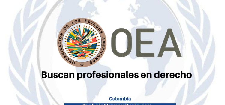 OEA Buscan profesionales en derecho