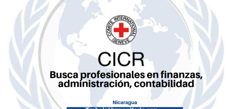 CICR busca profesionales con experiencia en recursos humanos, materiales y financieros