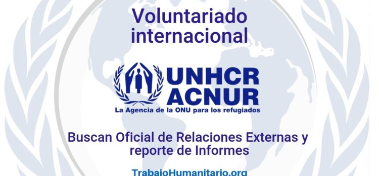 Voluntariado Internacional con ACNUR
