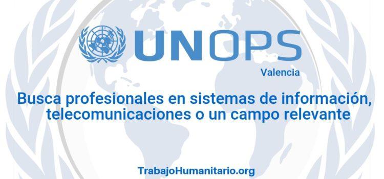 Naciones Unidas – UNOPS busca profesional es sistemas de información
