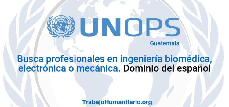 Naciones Unidas – UNOPS busca profesionales para el cargo de Biomédico(a)