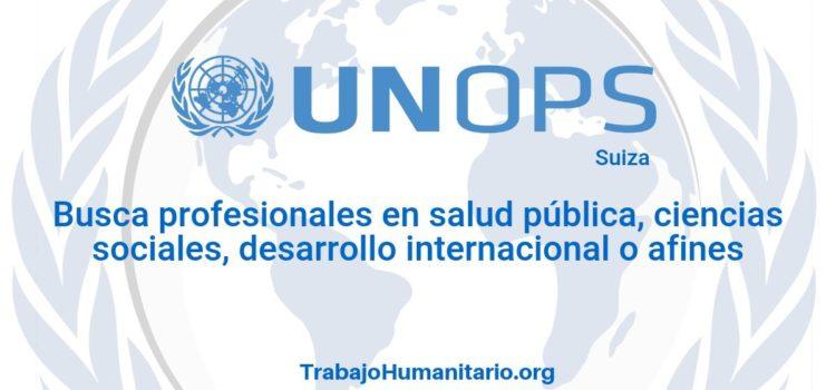 Naciones Unidas – UNOPS busca profesionales para el cargo de Director(a) Regional