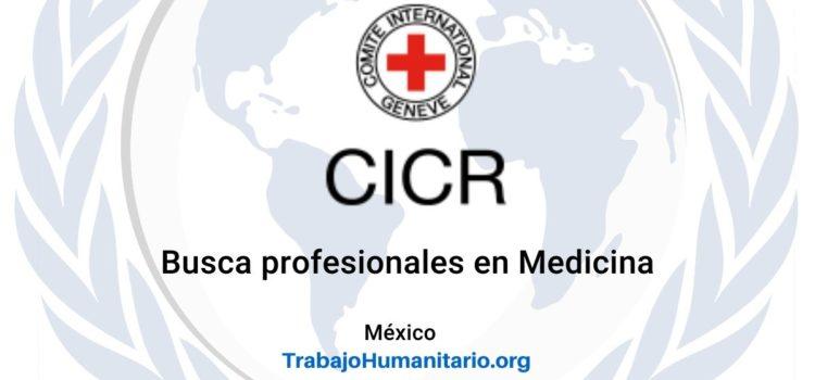 CICR busca Médico Laboral