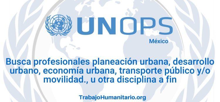Naciones Unidas – UNOPS busca Analista de Proyectos