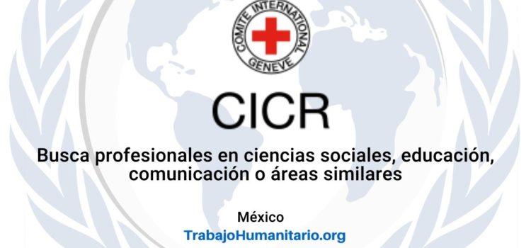 CICR en México busca profesionales para el cargo de Oficial de Protección