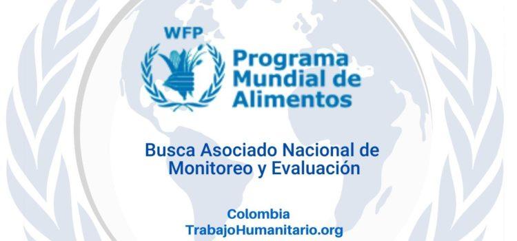 PMA busca Asociado Nacional de Monitoreo y Evaluación