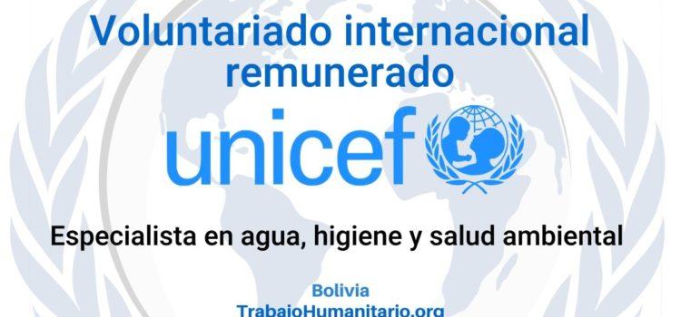 Voluntariado internacional remunerado con UNICEF