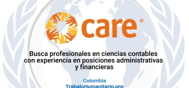 CARE busca responsable financiero y administrativo