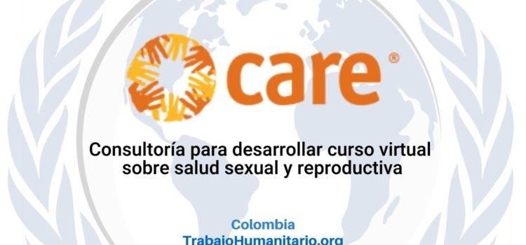 CARE busca consultoría para desarrollar curso virtual sobre salud sexual y reproductiva