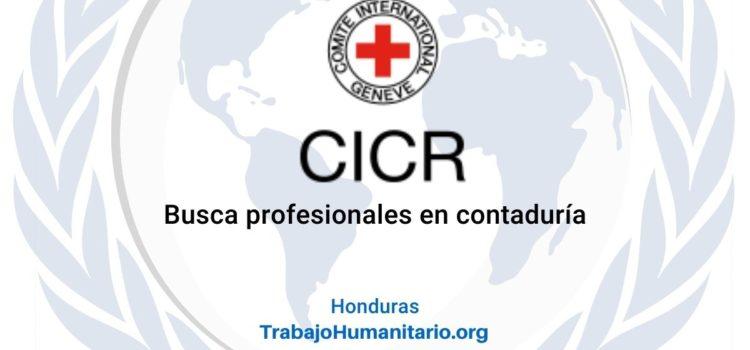 CICR en Honduras busca auxiliar contable