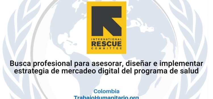 IRC Busca profesionales para diseño e implementación de estrategia de marketing digital