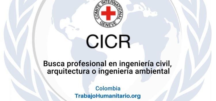 CICR busca Coordinador/a adjunto/a de la Unidad de Agua y Hábitat